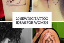 20 Sewing Tattoo Ideas For Creative Girls