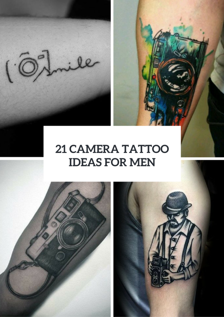 21 Camera Tattoo Ideas For Men To Repeat
