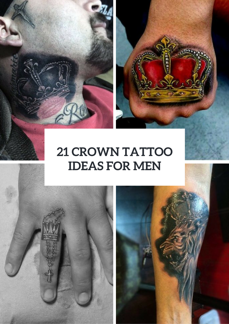 Cool Crown Tattoo Ideas For Men