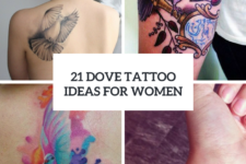21 Dove Tattoo Ideas For Ladies To Try