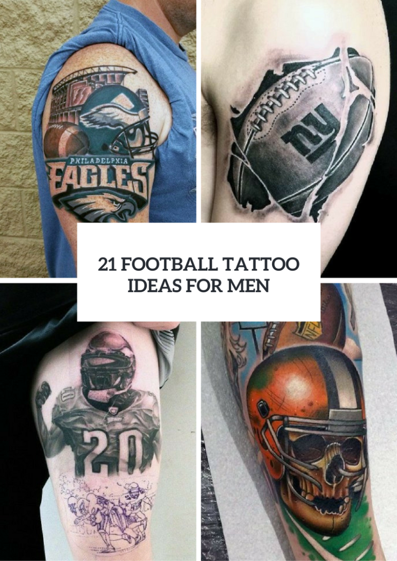 21 Perfect Football Tattoo Ideas For Guys