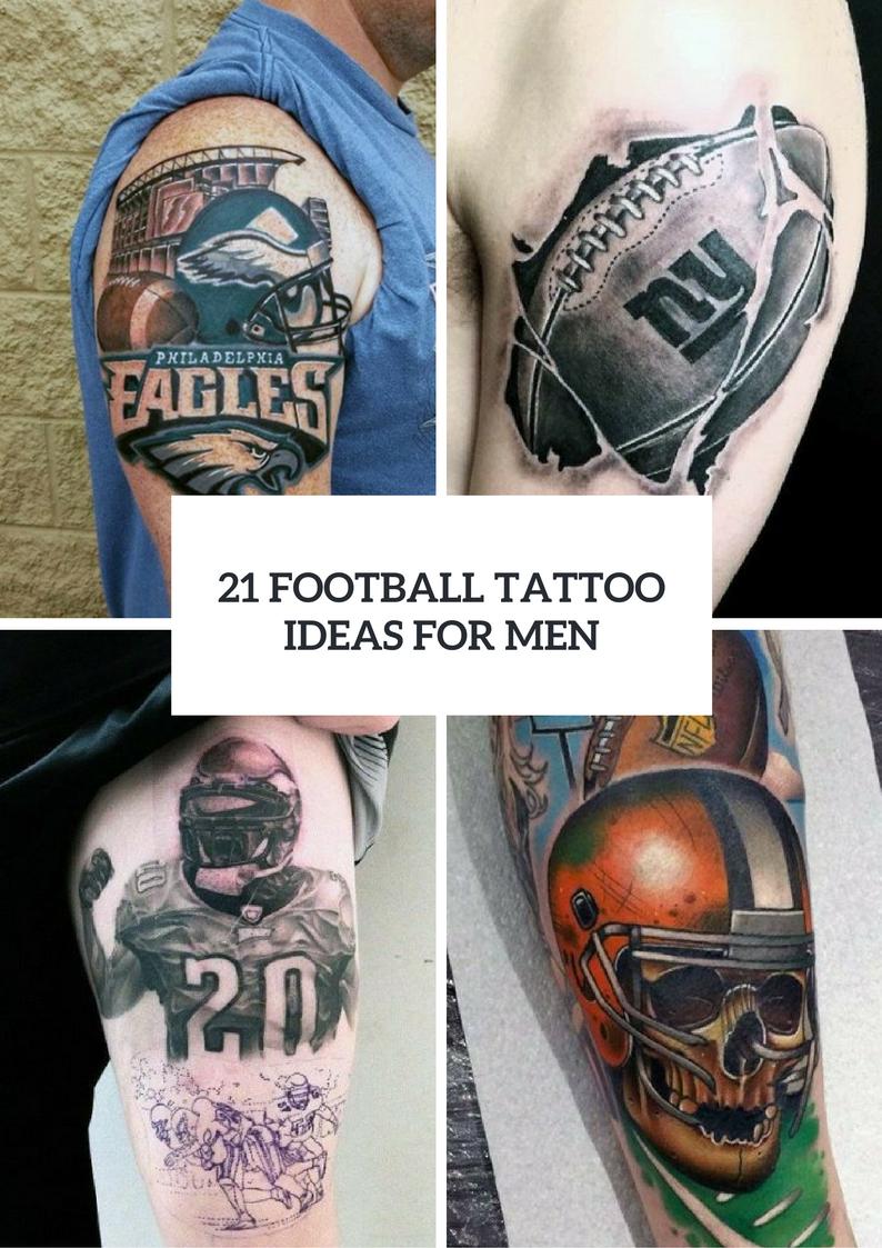 Perfect Football Tattoo Ideas For Guys