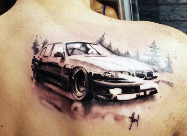 20 Original Car Tattoo Ideas For Men