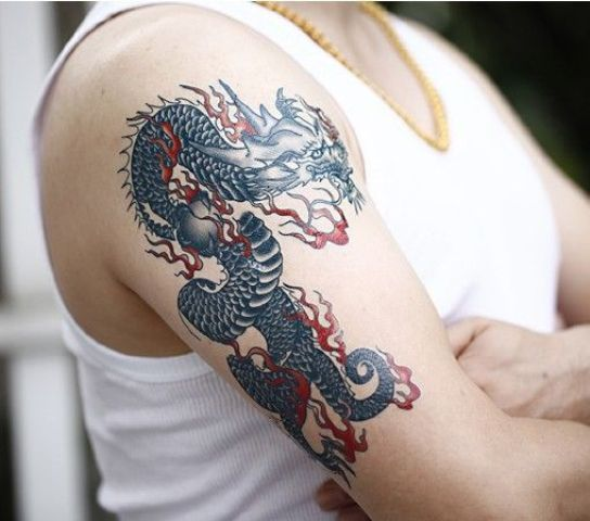Excellent tattoo on the hand