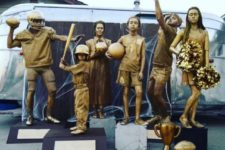 bronze statue costumes for the whole family