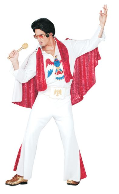 Iconic Elvis Presley outfit