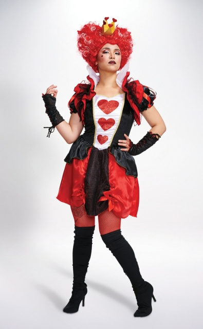Queen of hearts outfit idea