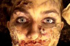 DIY very scary zombie makeup