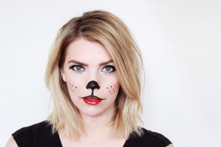 Cute Halloween Makeup Easy.Easy Cute Halloween Makeup Ideas The Halloween And Makeup