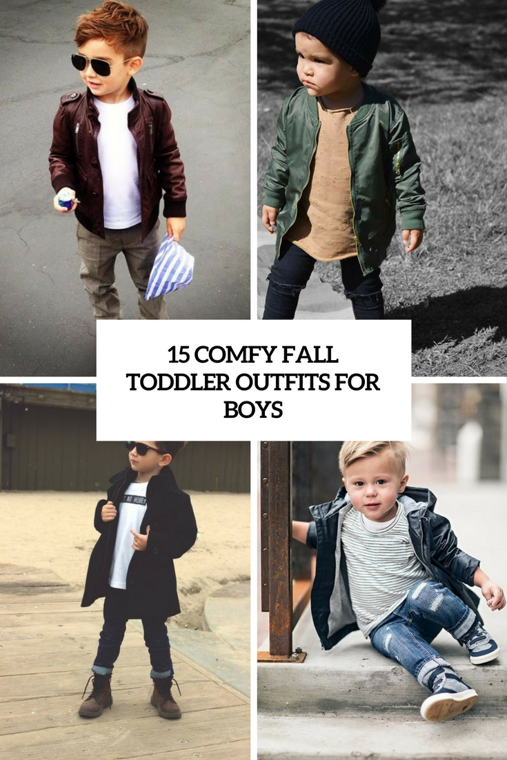 15 Comfy Fall Toddler Outfits For Boys
