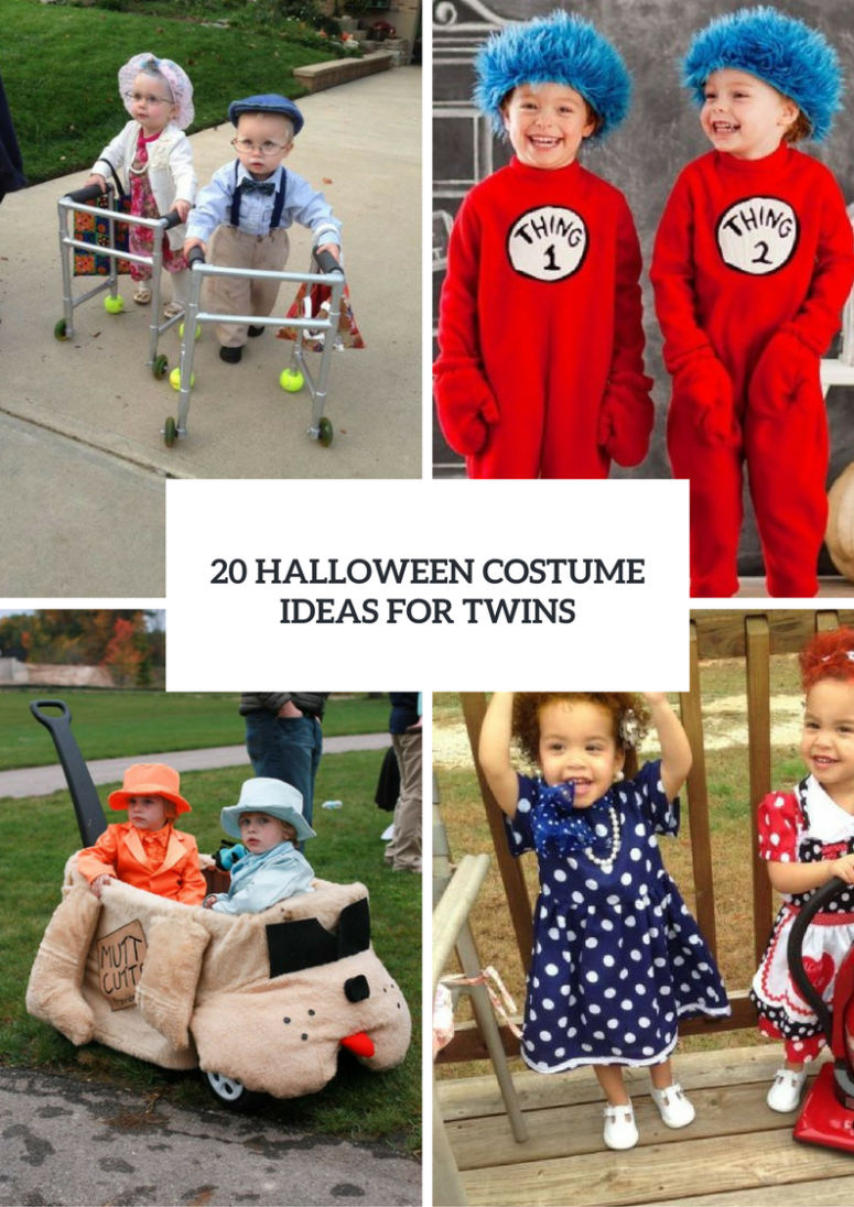 20 Halloween Costume Ideas For Twins
