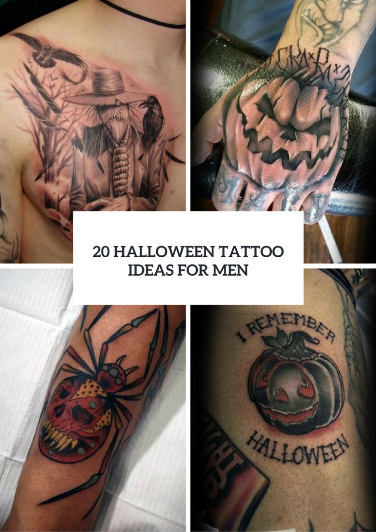 20 Halloween Tattoo Ideas For Men To Try