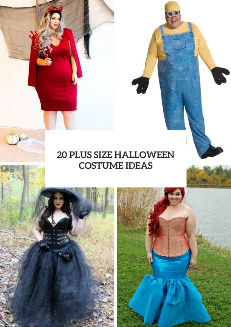 20 Plus Size Halloween Costume Ideas