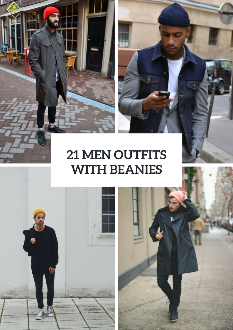 Men Outfits With Beanies To Try