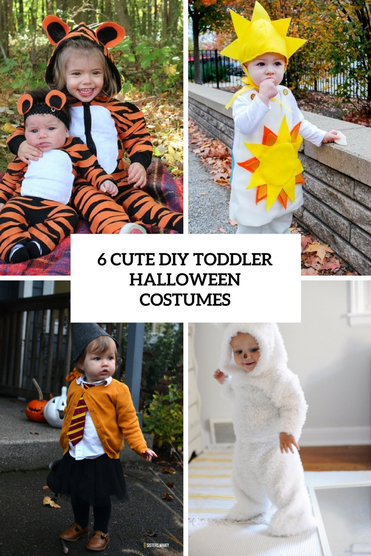 6 Cute DIY Toddler Halloween Costumes