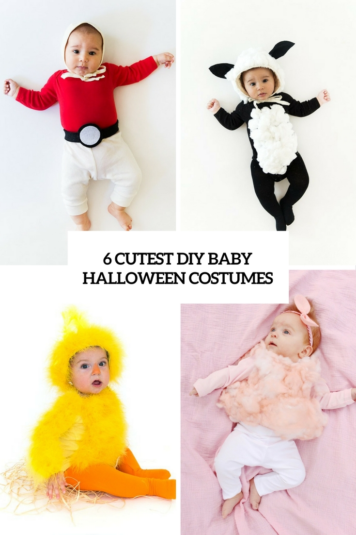 6 Cutest DIY Baby Halloween Costumes