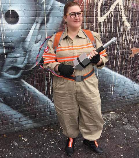 Cool ghostbuster outfit idea