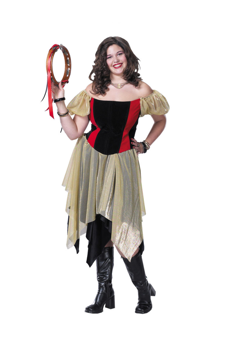 Easy-to-repeat gypsy costume idea