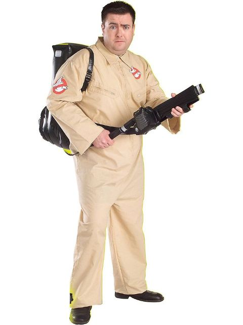 Excellent ghostbuster costume idea