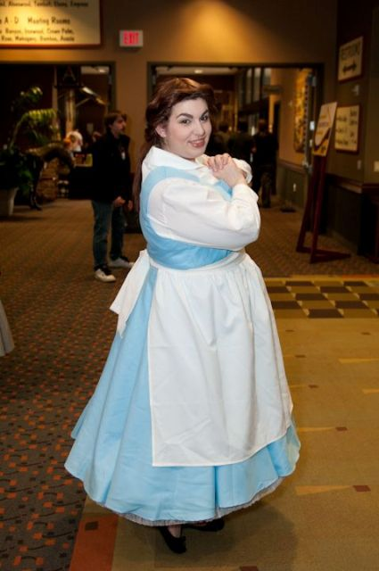 Gentle and cute Belle costume