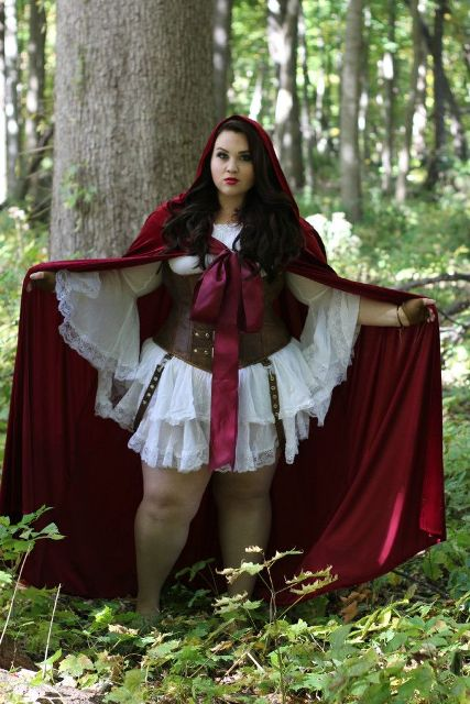 Little red riding hood outfit