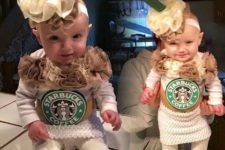 Starbucks cup of coffee's costumes