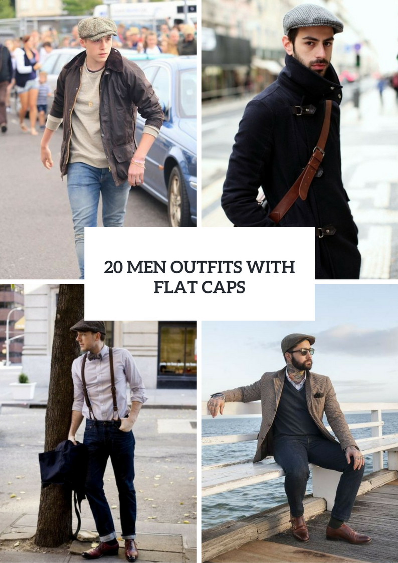 Fall Men Outfits With Flat Caps