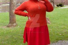 Velma costume idea from Scooby-Doo cartoon