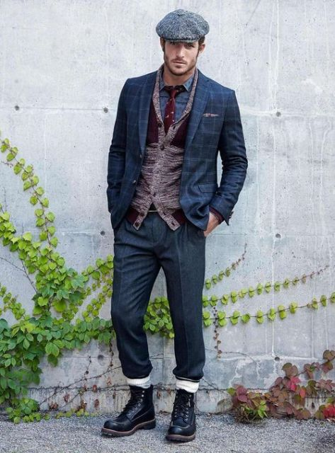 20 Fall Men Outfits With Flat Caps Styleoholic
