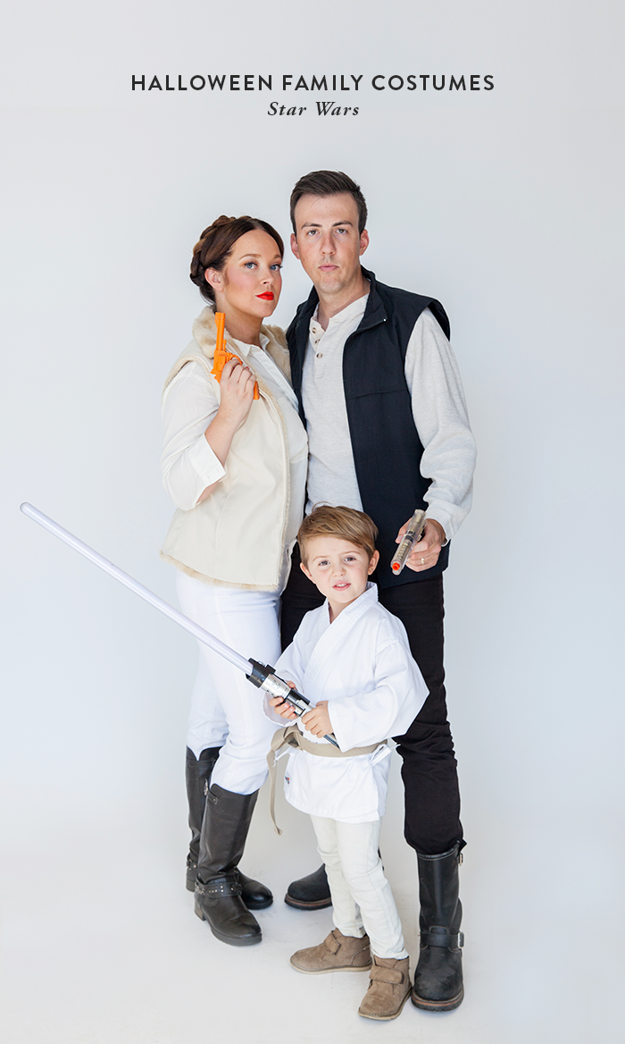 DIY Star Wars family costume (via sayyes.com)