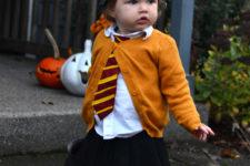 DIY Hermione toddler costume