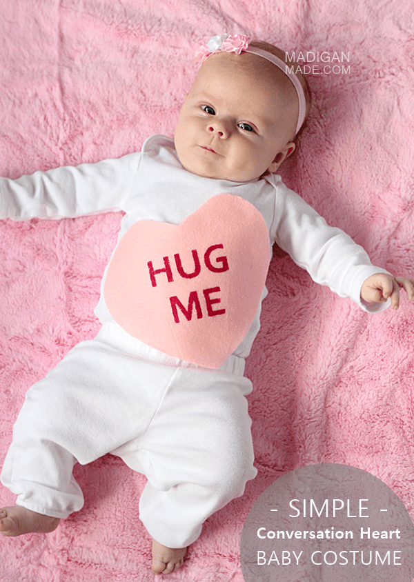 DIY easy Conversation Heart costume (via rosyscription.com)
