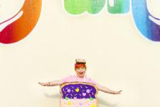 DIY unicorn toast Halloween costume