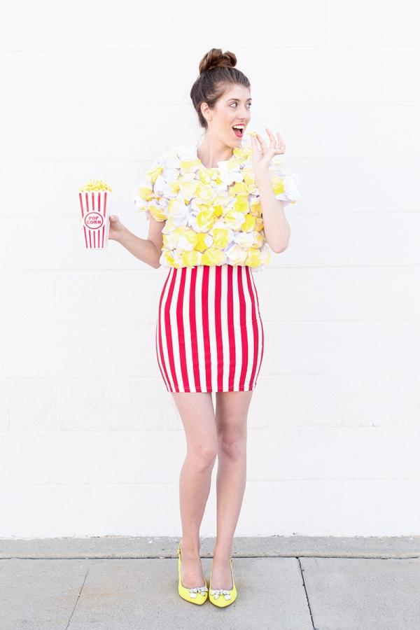 DIY popcorn costume (via studiodiy.com)