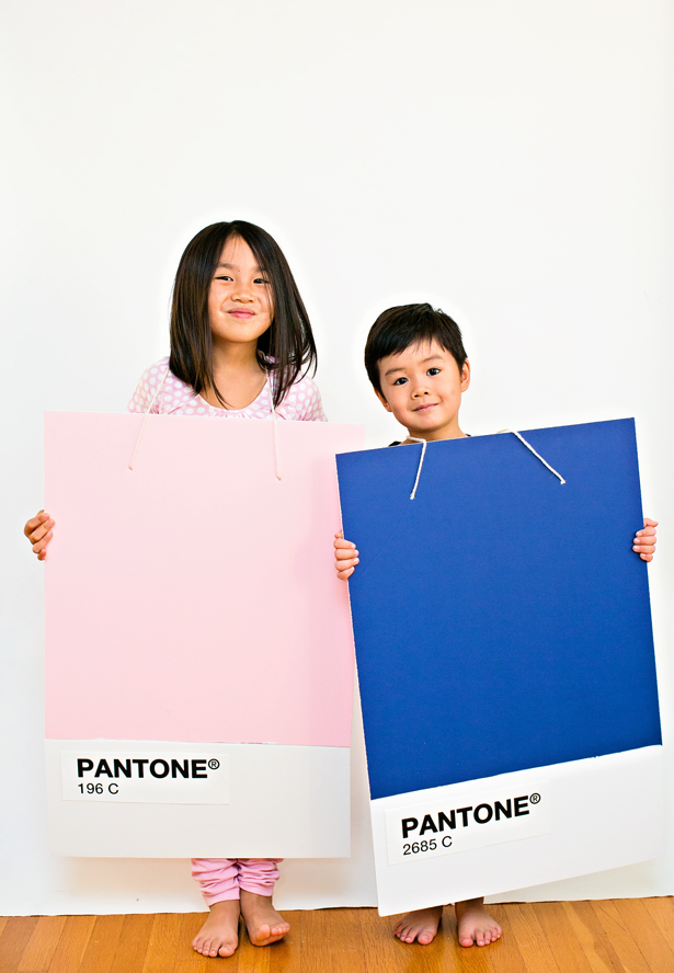 DIY Pantone color of the year costumes (via www.hellowonderful.co)