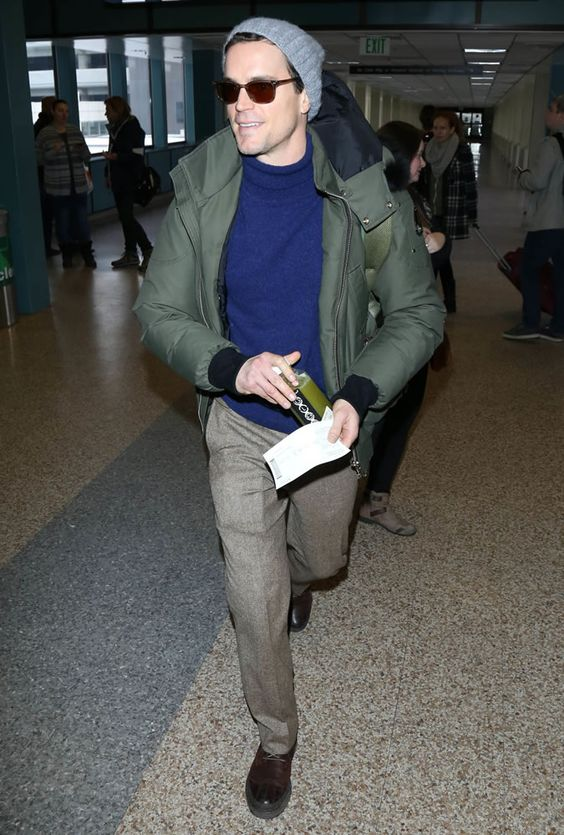 15 Stylish Winter Airport Looks For Men
