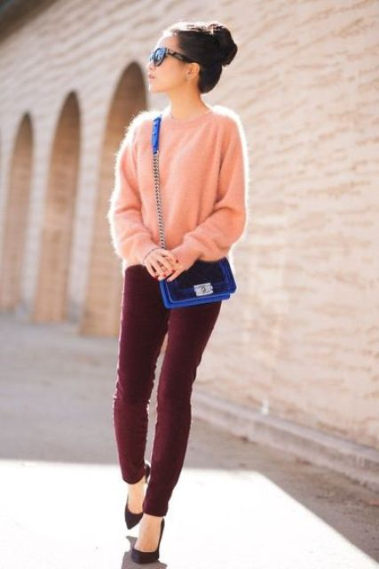 15 Stylish Outfits With An Angora Sweater Or Cardigan