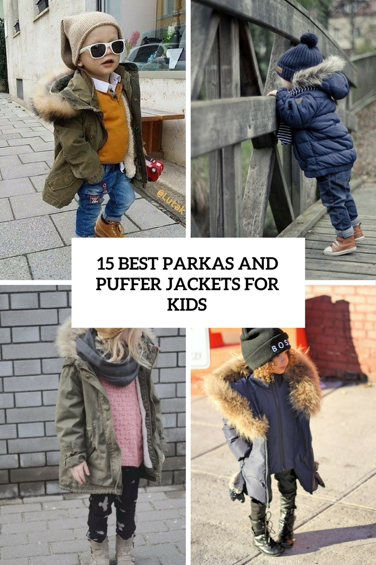 15 Best Parkas And Puffer Jackets For Kids
