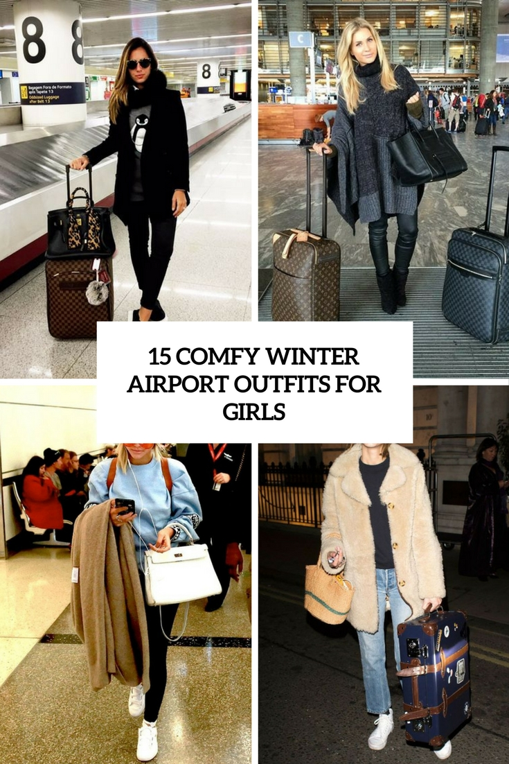 15 Comfy Winter Airport Outfits For Girls