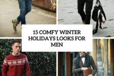 15 comfy winter holidays looks for men cover