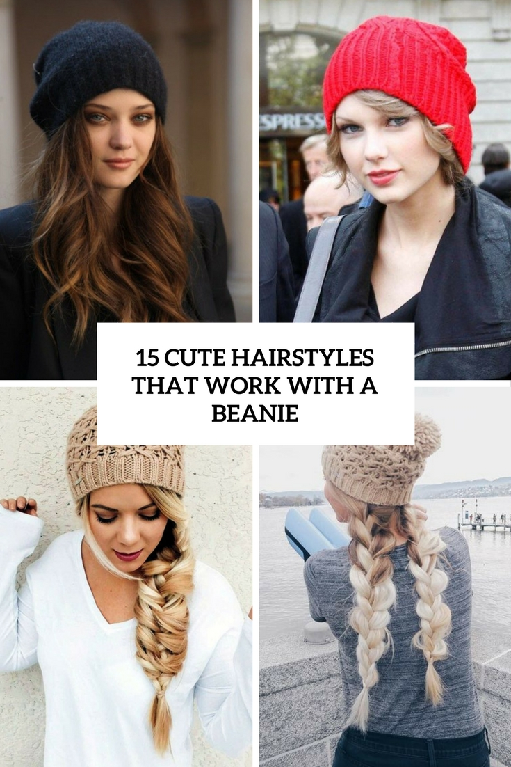 15 Cute Hairstyles That Work With A Beanie