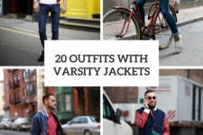 20 Fall Men Outfits With Varsity Jackets