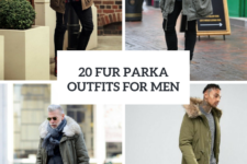 20 Men Outfits With A Fur Parka For Fall And Winter