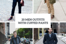 20 Men Outfits With Cuffed Pants For This Season