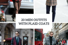 20 Men Outfits With Plaid Jackets And Coats
