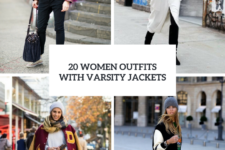 20 Women Outfits With Varsity Jackets To Repeat