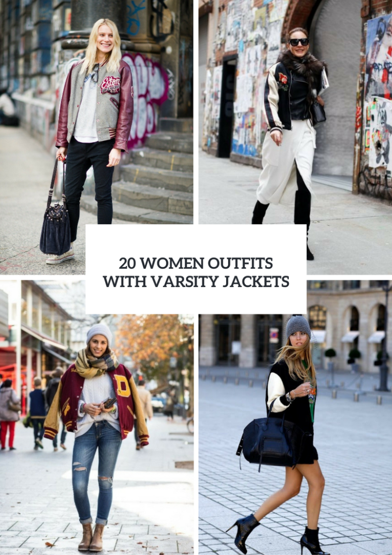 Women Outfits With Varsity Jackets To Repeat