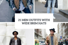 21 Fall Men Outfits With Wide Brim Hats