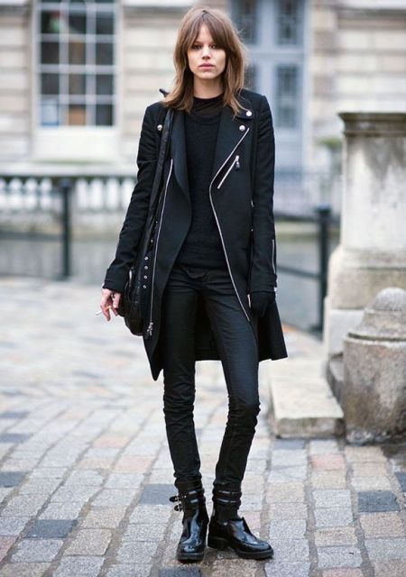20 All-Black Winter Women Outfits To Try - Styleoholic