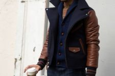great men look with a cardigan